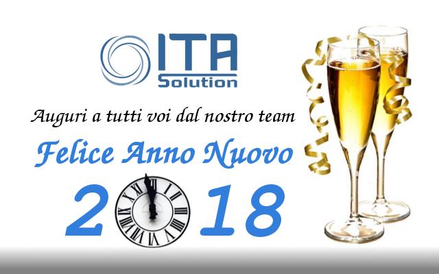 Riprendiamo con il 2018! Buon anno!